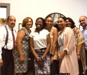 Ewa Ogundana and the G.S. Proctor team